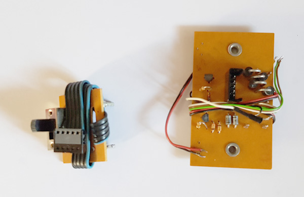 Carte régulation + inversion  5 v + interrupteur